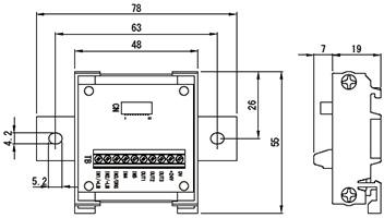 端子台変換ユニット(型式:ST-TB5I3o)